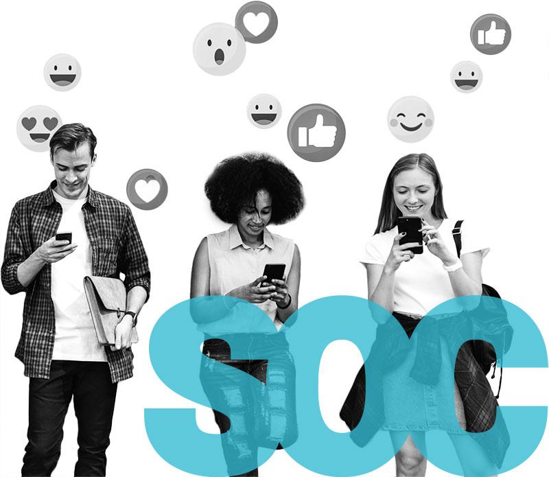 Marketingová agentura - správa sociálních sítí