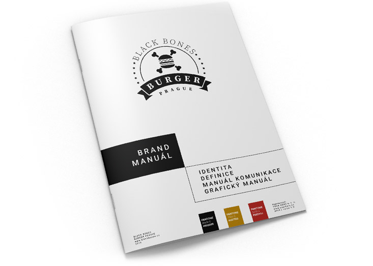 Branding - příklad brandmanuálu z naší dílny