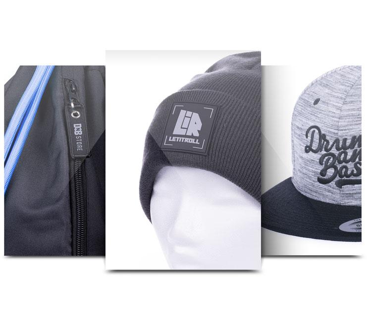 Merchandise ukázka - ukázka detailů