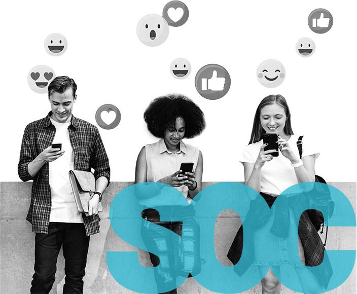 Správa sociálních sítí - příklady Your Hero