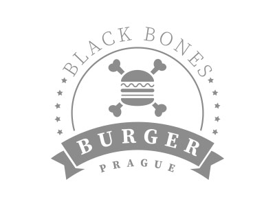 Logo Black Bones Burger