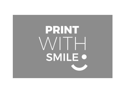Logo Print With Smile